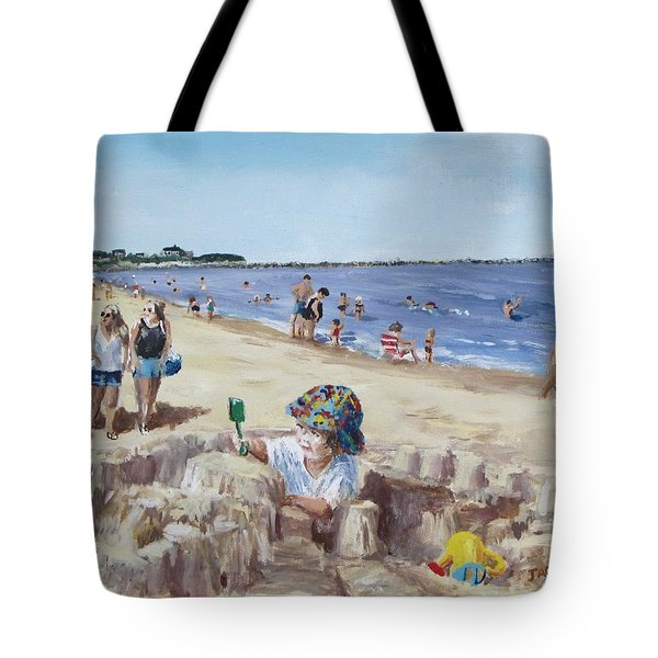 From Sandcastles to College Tote Bag by Jack Skinner