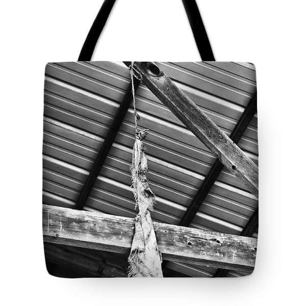 From The Rafters Tote Bag by Christi Kraft