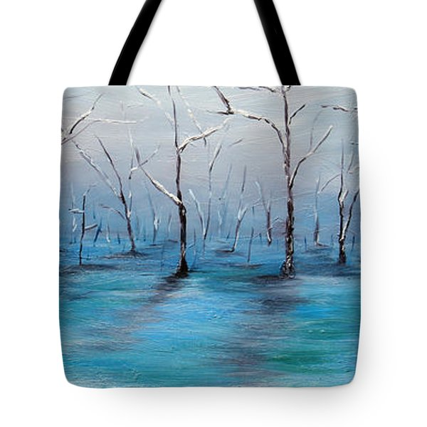 Frost Like Ashes Tote Bag by Meaghan Troup