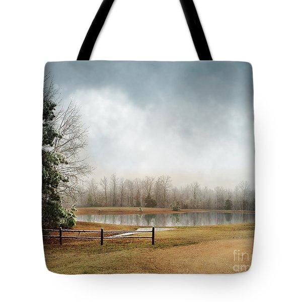 Frostbitten Tote Bag by Jai Johnson
