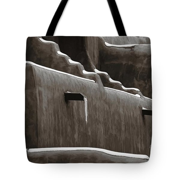 Frosting On The Clay Tote Bag by Jon Burch Photography