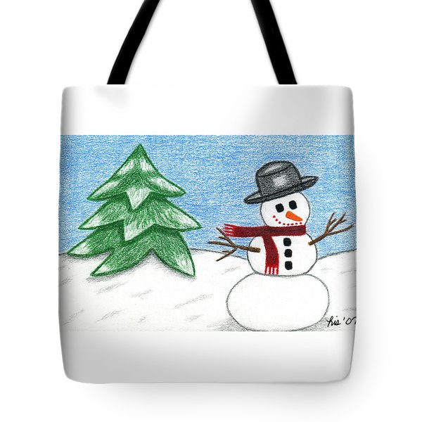 Frostyland Tote Bag by Lisa Ullrich