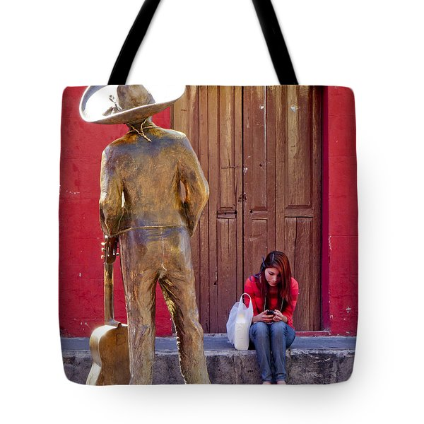 Frozen in Time Tote Bag by Douglas J Fisher