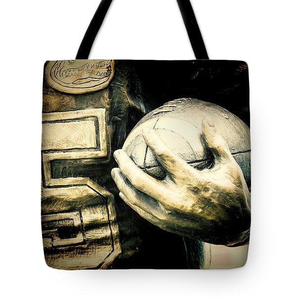 Frozen In Time Tote Bag by Joan Carroll