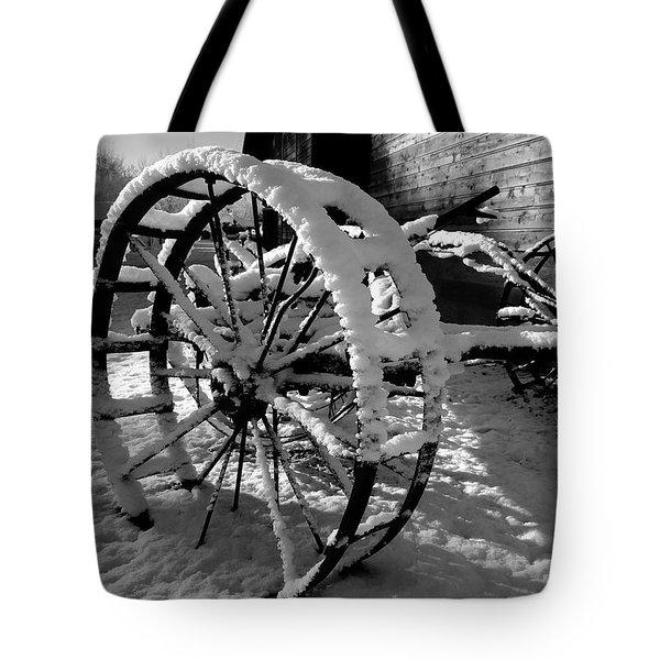 Frozen In Time Tote Bag by Steven Milner