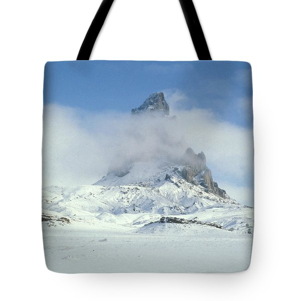Frozen Peak 1001 Tote Bag by Brent L Ander
