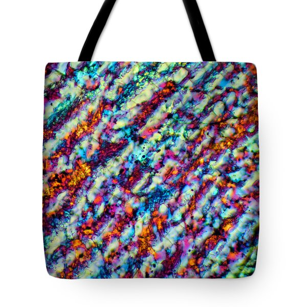 Frozen Rivers Tote Bag by Tom Phillips