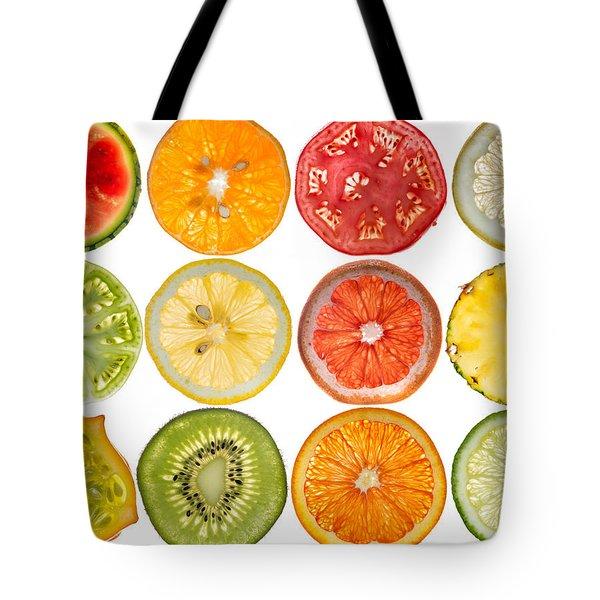 Fruit Market Tote Bag by Steve Gadomski