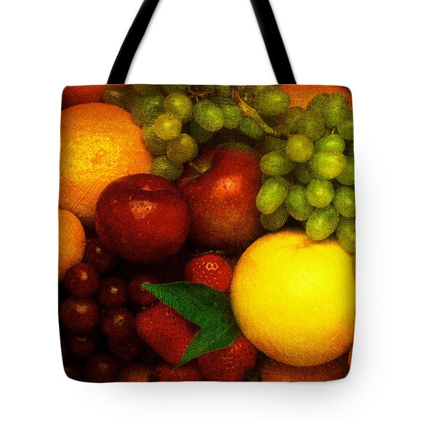 Fruit Tote Bag by Mauro Celotti