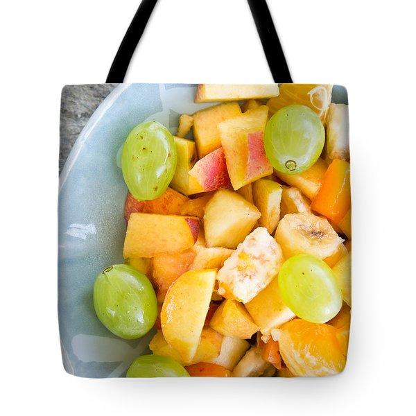 Fruit Salad Tote Bag by Tom Gowanlock