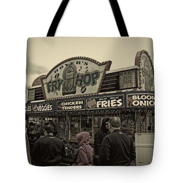 Fry Hop Tote Bag by Tom Gari Gallery-Three-Photography