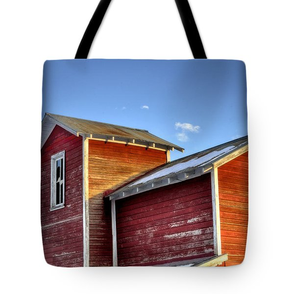 Ft Collins Barn Sunset 13505 Tote Bag by Jerry Sodorff