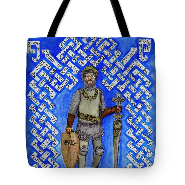 Full Armor Of Yhwh Man Tote Bag by Hidden  Mountain