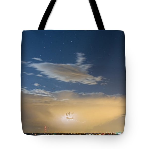 Full Moon Light Tote Bag by James BO  Insogna