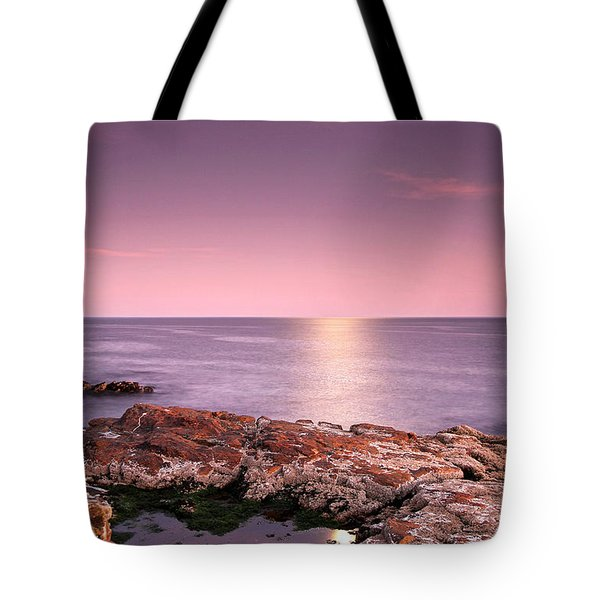 Full Moon Reflection Tote Bag by Juergen Roth