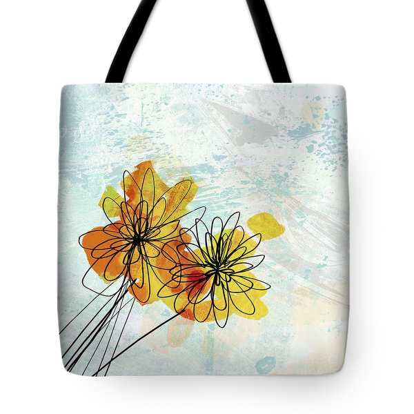 Fun Flowers  Tote Bag by Ann Powell