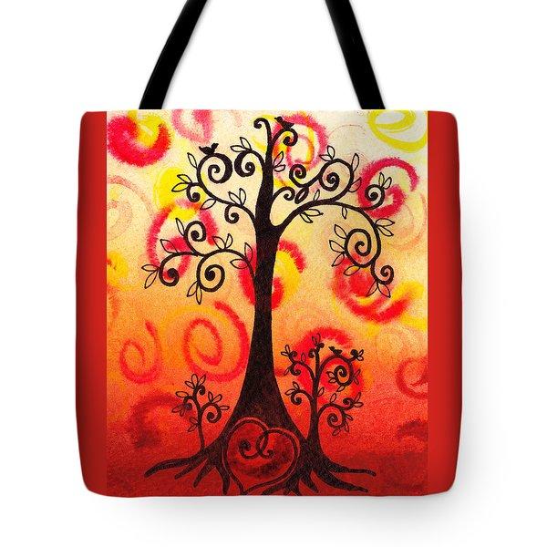 fun tree of life impression vi painting by irina sztukowski. Black Bedroom Furniture Sets. Home Design Ideas