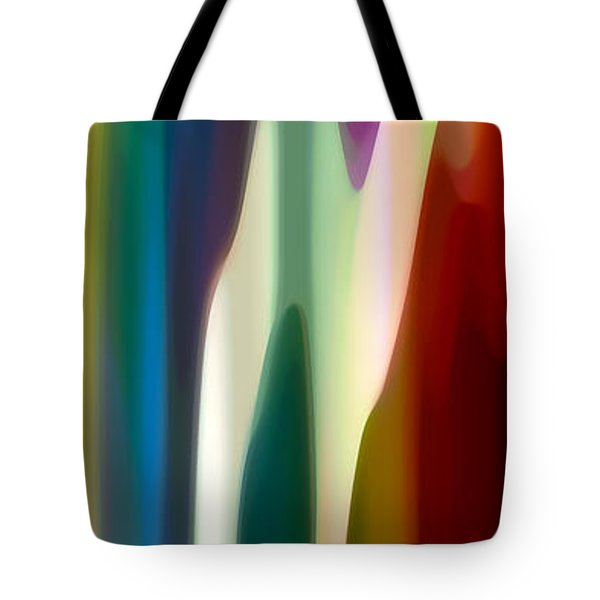 Fury Panoramic Vertical 4 Tote Bag by Amy Vangsgard