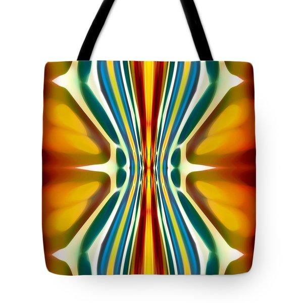 Fury Pattern 6 Tote Bag by Amy Vangsgard