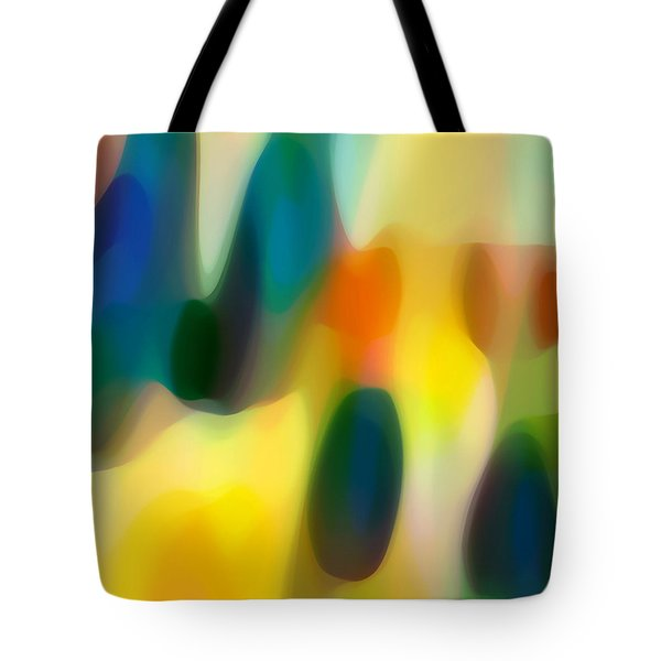 Fury Rain 1 Tote Bag by Amy Vangsgard