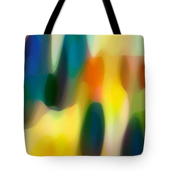 Fury Rain 3 Tote Bag by Amy Vangsgard