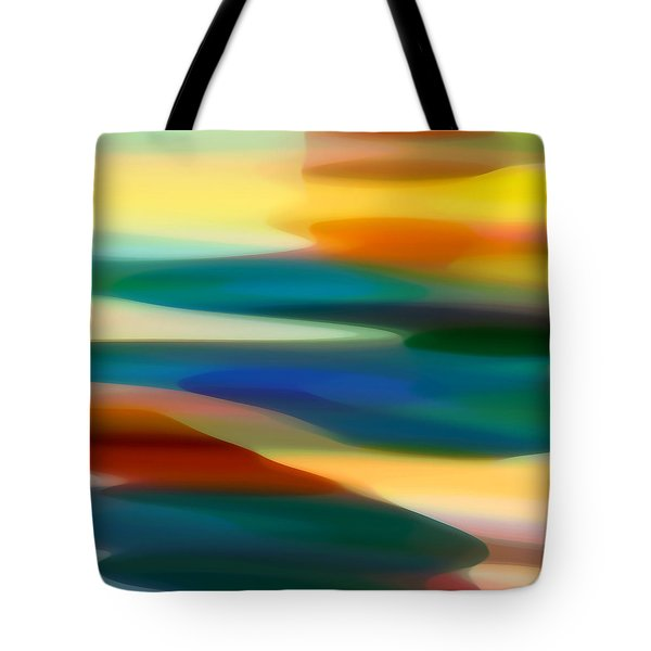 Fury Seascape 5 Tote Bag by Amy Vangsgard