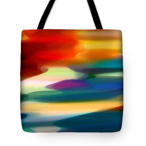 Fury Seascape Tote Bag by Amy Vangsgard