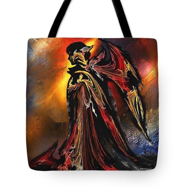 Furyando Tote Bag by Francoise Dugourd-Caput