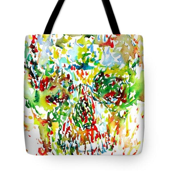 Future City Tote Bag by Fabrizio Cassetta