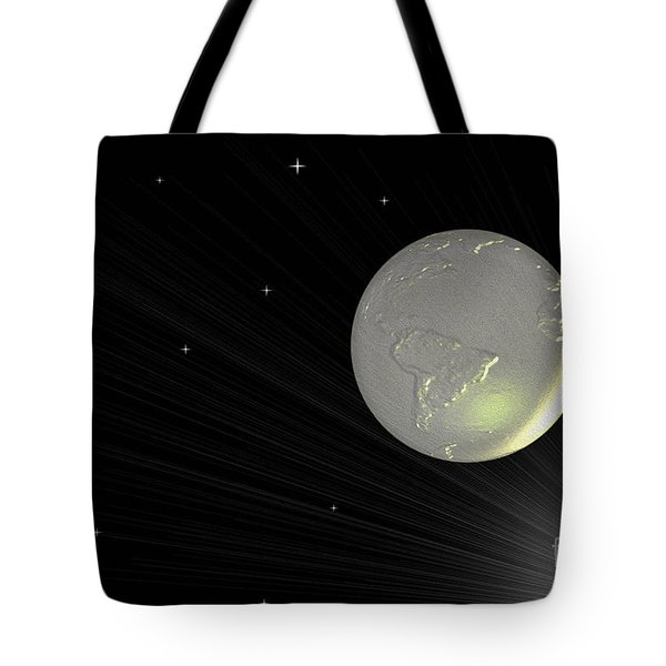 Future Earth 2 Tote Bag by Cheryl Young