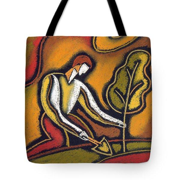 Future Tote Bag by Leon Zernitsky