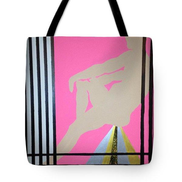 Futurhistic Tote Bag by Erika Chamberlin