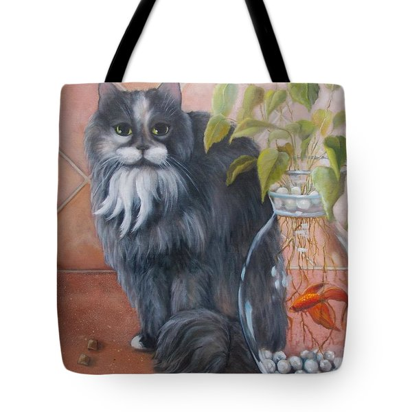 Fuzz And Homer Tote Bag by Marlene Book