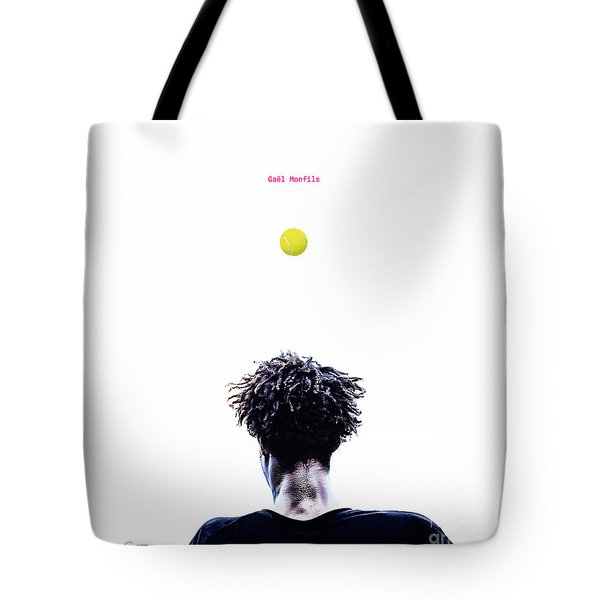 Gael Monfils Tote Bag by Nishanth Gopinathan