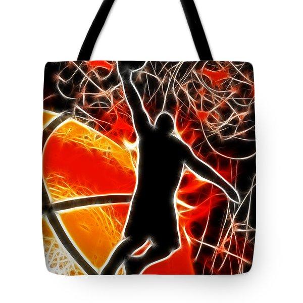 Galactic Dunk Tote Bag by David G Paul