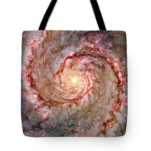 Galactic Whirlpool Tote Bag by Benjamin Yeager