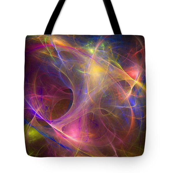 Galaxie Fractale -01 Tote Bag by RochVanh