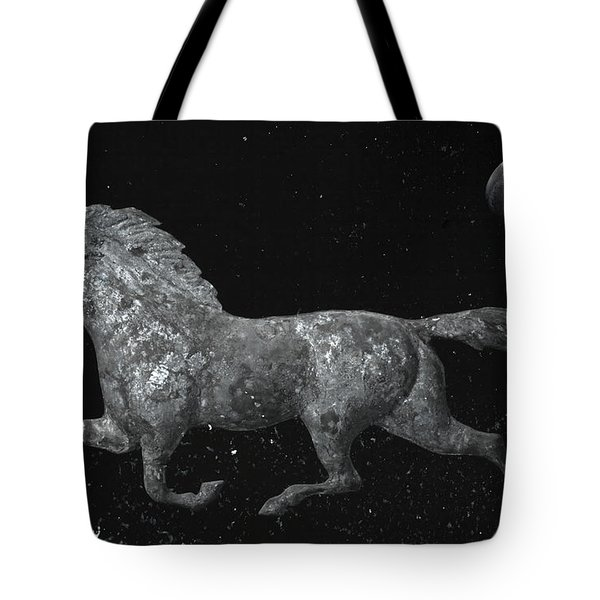 Galloping Through The Universe Tote Bag by John Stephens