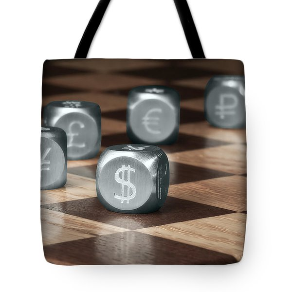 Game of Chance Tote Bag by Tom Mc Nemar