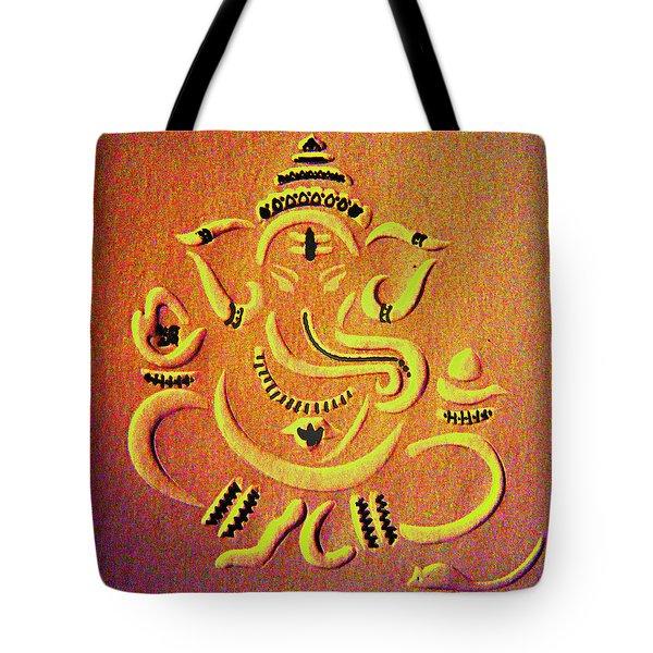 Ganesha Pietyz Tote Bag by Piety Dsilva