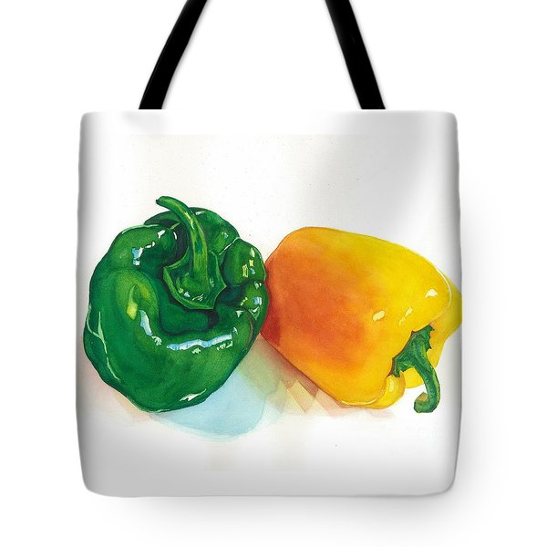 Garden Bells Tote Bag by Barbara Jewell