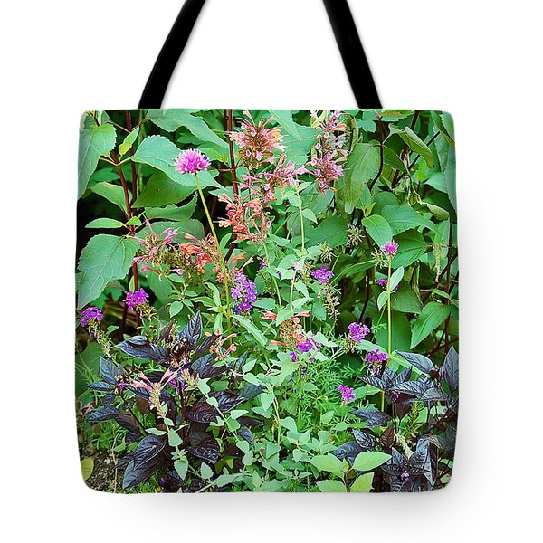 Garden Bouquet Tote Bag by Aimee L Maher Photography and Art