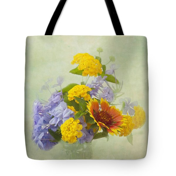 Garden Bouquet Tote Bag by Kim Hojnacki