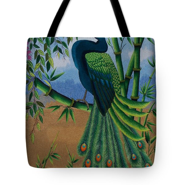 Garden Jewel 1 hand embroidery Tote Bag by To-Tam Gerwe