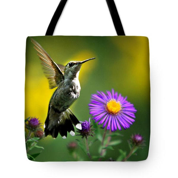 Garden Lights Tote Bag by Christina Rollo