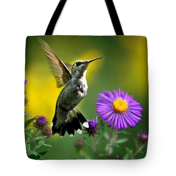 Garden Lights Tote Bag by Christina Rollo