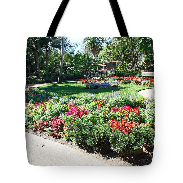 Garden Park Tote Bag by Aimee L Maher Photography and Art Visit ALMGallerydotcom
