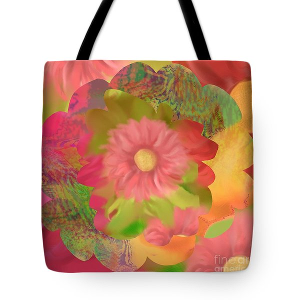 Garden Party Tote Bag by Christine Fournier