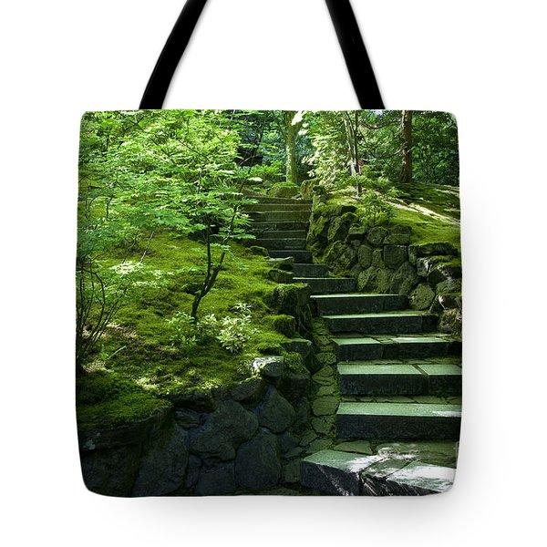 Garden Path Tote Bag by Brian Jannsen