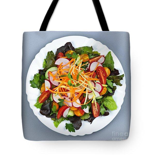 Garden Salad Tote Bag by Elena Elisseeva